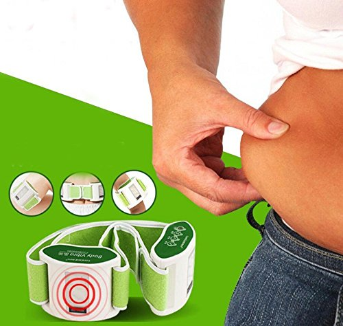 Vibro Shape Double Adjustable Vibrating Weight Loss Belt/As Seen on TV Belly Burner/Slim Belt