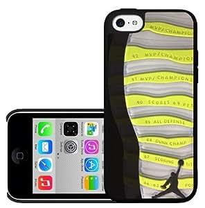 Designer Shoe Print Retro X 10's Venom Green Hard Snap on Phone Case (iPhone 5c)