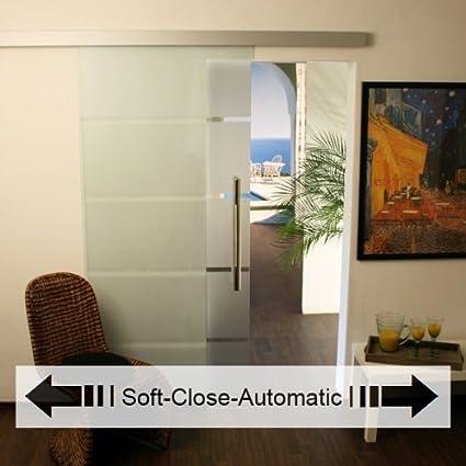 NUEVO Cristal de puertas correderas con Soft Close, Puerta Cristal puerta de cristal Cristal puertas 3 AS de Soft: Amazon.es: Bricolaje y herramientas