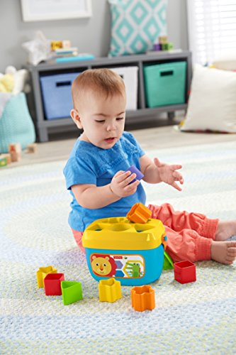 517hF3s02IL - Fisher-Price Baby's First Blocks Playset