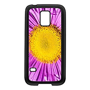 Aster Black Silicon Rubber Case for Galaxy S5 Mini by Mick Agterberg + FREE Crystal Clear Screen Protector