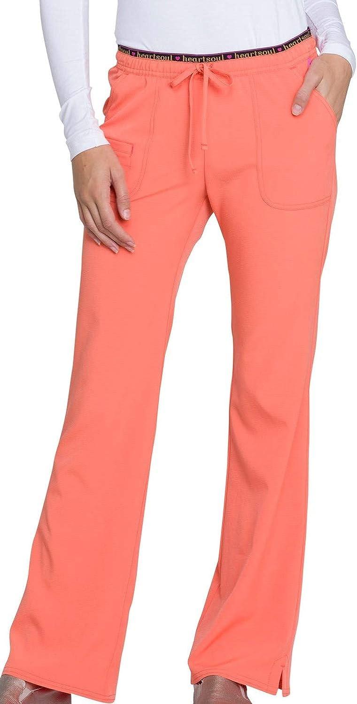 HeartSoul Break On Through Low Rise Drawstring Pant Orange Pop XL 20110