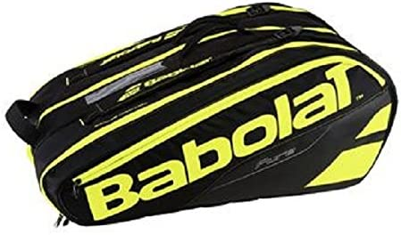 751133-232 BABOLAT PURE LINE 12 PACK TENNIS BAG FLUO YELLOW BLACK