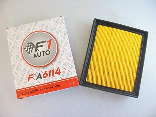 Toyota Prius Mpg (F1AUTO FA6114 FLAT PANEL ENGINE AIR)