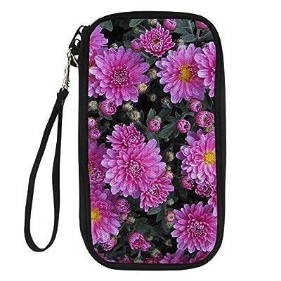5563c890257c Amzbeauty Multiple Passport Wallet Floral Family Travel Passport ...