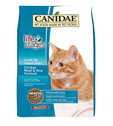 CANIDAE All Life Stages Cat Dry Food Chicken Meal & Rice Formula, 4 lbs