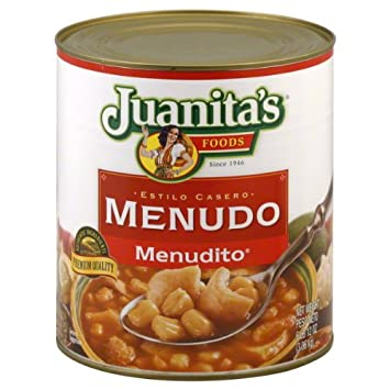Juanitas Menudo, 108-Ounce Can