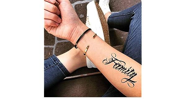 Tatuaje Temporal de Familia en letras chicanas (2 Piezas) - www ...