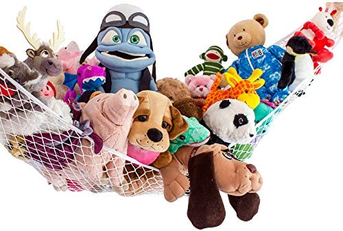 Lillys Love Stuffed Animals Storage Chain and Hammock Kit Includes Chain /& Hammock Plastic Chain 60 with 20 Strong Clips and Hardware Plastic Chain 60 with 20 Strong Clips and Hardware Lilly/'s Love ToyN1PAC