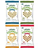i heart keenwah Quinoa Puffs Variety Pack 3 oz each Flavor - Herbes De Provence, Sweet Chili, Aged Chedder and Sea Salt Truffle
