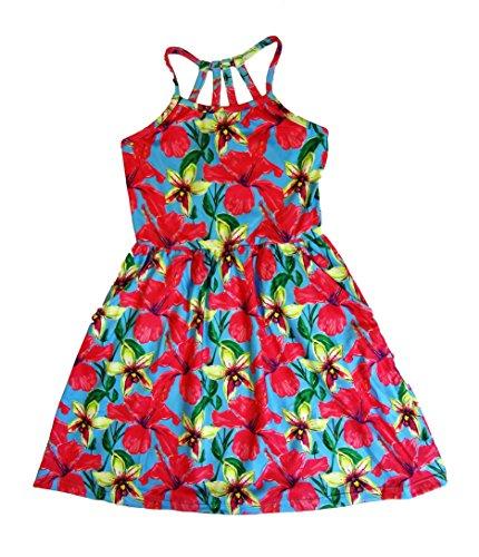 Maui Clothing Infant/ Toddler Clementine Hoku Sundress (18 Months) (Mulan Blue Dress)
