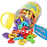 magnetic letters and numbers by curious columbus set of 114 premium quality abc 123 colorful foam alphabet magnets top