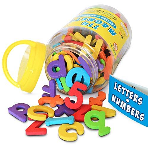 large alphabet fridge magnets - 1