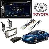 "Jensen 6.2"" High Resolution Touchscreen w/DVD Player & Bluetooth Control American International Dash Kit for 2007-2011 Toyota Camry | ToyK983S"