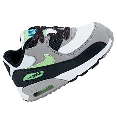 f78c2184fb0a NIKE TRAINERS JUNIOR AIR MAX 90 LEATHER WHITE Sz 8 C  Amazon.co.uk  Shoes    Bags