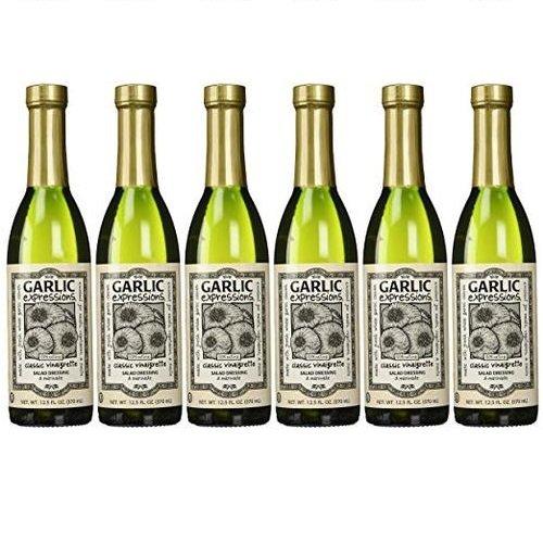 Garlic Expressions Classic Vinaigrette Salad Dressing & Marinade, Pack of 6