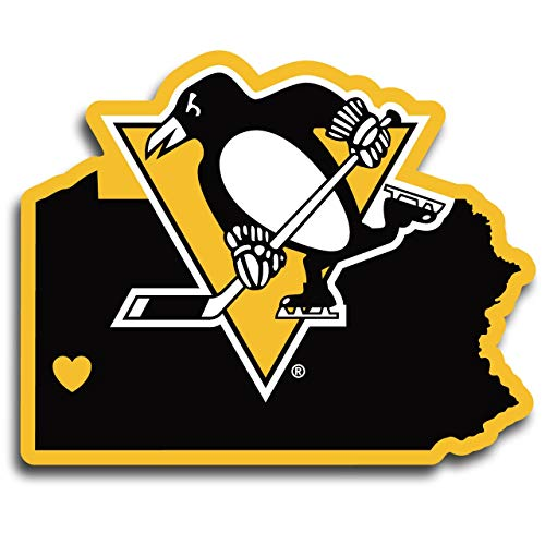 Siskiyou NHL Pittsburgh Penguins Home State Decal