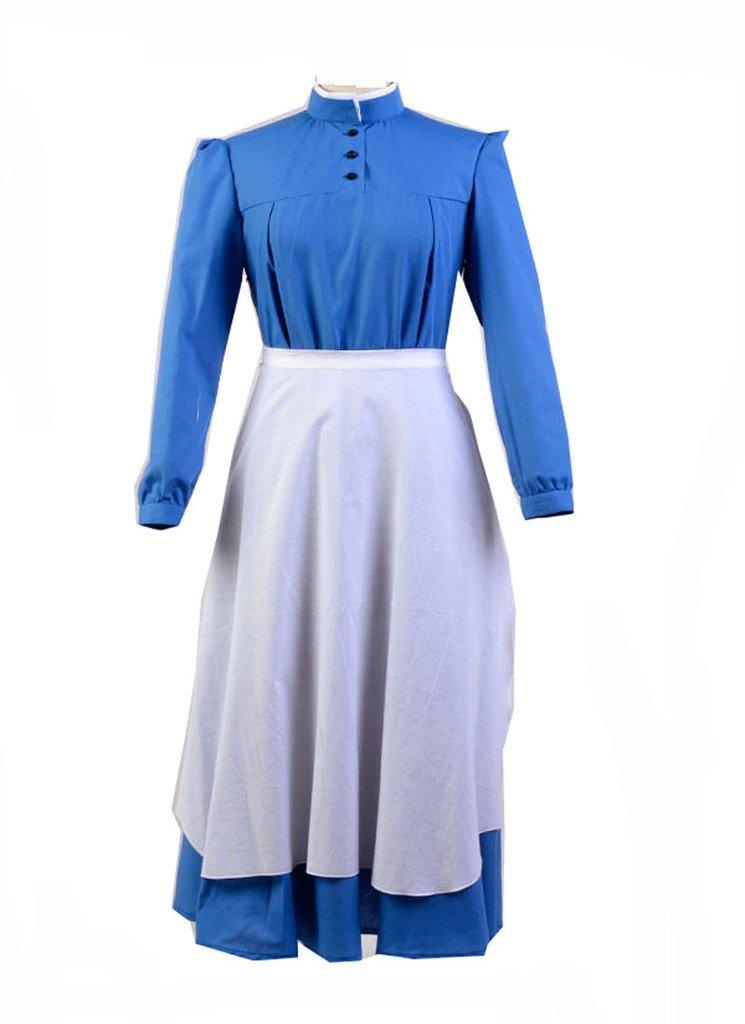 Howl's Moving Castle Sophie Dress Cosplay Kostüm Blau XL B06XGD3GBV Kostüme für Erwachsene Ausgewählte Materialien     | Gutes Design