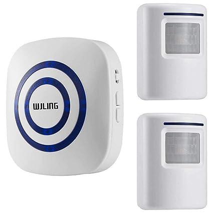 26cc9254c177f WJLING Motion Sensor Alarm, Wireless Home Security Driveway Alarm, Motion  Sensor Detect Alert with