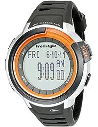 Unisex 10022919 Mariner Tide Digital Display Japanese Quartz Black Watch