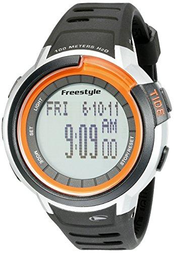 - Freestyle Unisex 10022919 Mariner Tide Digital Display Japanese Quartz Black Watch