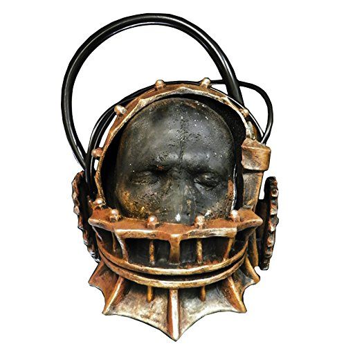 Saw Halloween Costume (Trick or Treat Studios Men's Saw-Reverse Bear Trap Full Head Mask, Multi, One)