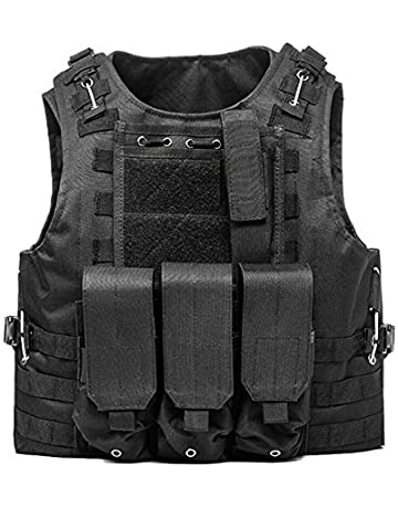 b4278f91250 Invenko Trainning Tactical Airsoft Paintball Combat Swat Assault Army  Shooting Hunting Outdoor Molle Police Vest