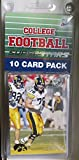 10 card pack college football iowa hawkeyes different superstars starter kit