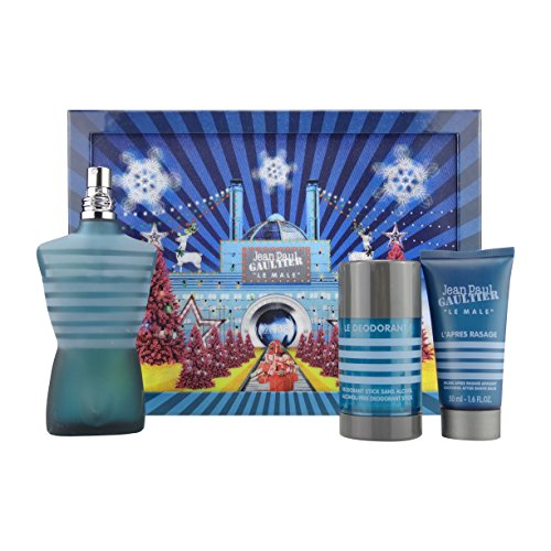 Jean Paul Gaultier 3 Piece Gift Set for Men, 3 Count