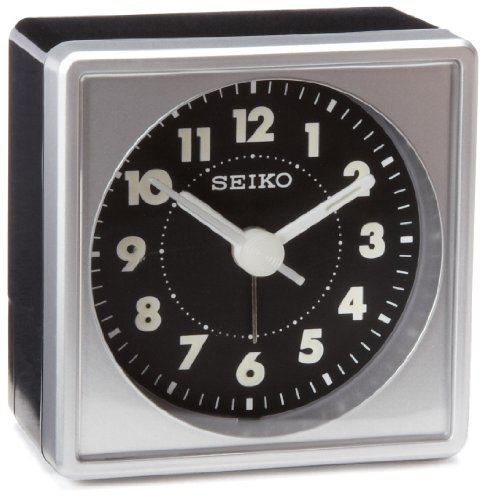 Seiko QHE083SLH Bedside Alarm (I Sound Time Travel Alarm Clock)