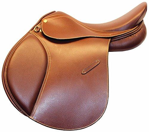 Henri de Rivel Advantage All Purpose English Saddle | Horse Riding Equestrian Saddle - Oak Bark Printed - 15 Wide
