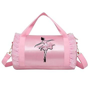 Amazon.com: FENICAL - Bolso bandolera de ballet para niñas ...