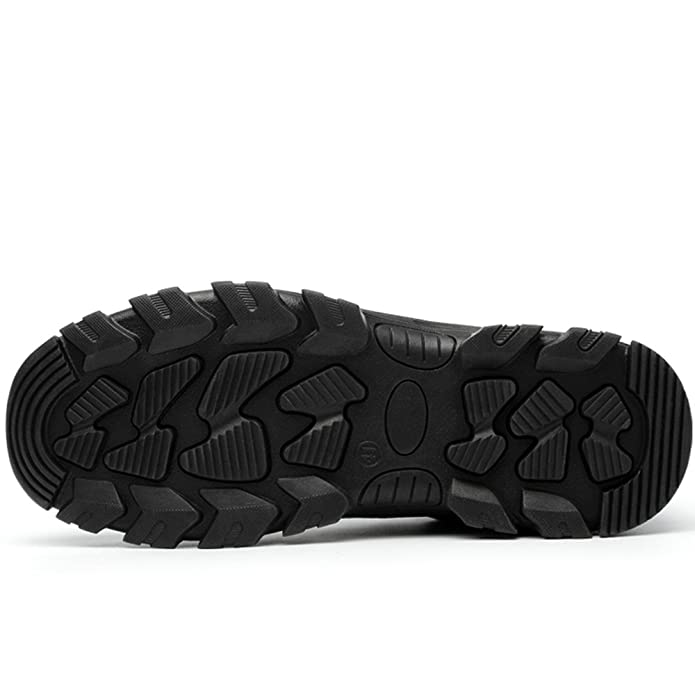 cc6f7b52db AiChuang Unisex Steel Toe Work Shoes Industrial&Construction Shoes Puncture  Proof Safety Shoes