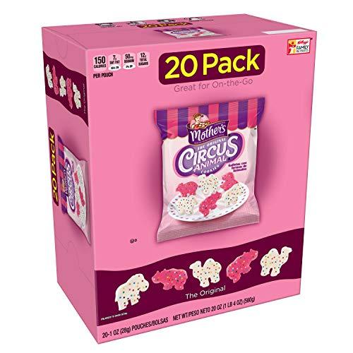 Mother's Cookies, Original Circus Animal, 20 oz Caddy (20 count)(Pack of - Circus Cookies Animal