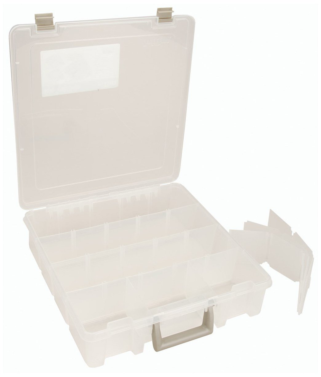 ArtBin Super Satchel Removable Dividers Box - Art Craft Storage Container, 9007AB