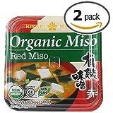 TWIN PACK! Hikari ORGANIC Red Miso Paste - 2 tubs, 17.6 oz