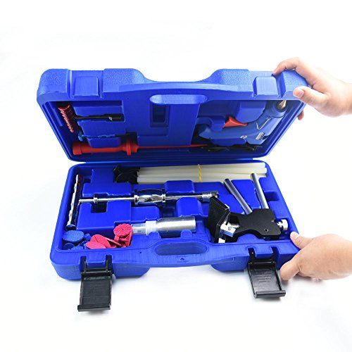 Car Dent Remover Dent Puller Tool Paintless Dent Repair Tools PDR Kit Door Ding Dent Lifter Glue Puller Hail Damage Repair Dent Repair Kit Dent Removal Kit Dent Puller Kit by Wcaro (Image #2)'