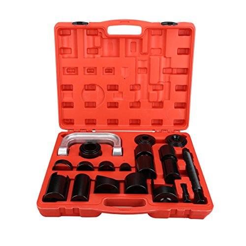 Must Have Truck Car Owner Item Anti-Rust Heavy Duty Carbon Steel 21 Pcs Press Truck Car Ball Joint Nice Deluxe Set Service KIT Remover Installer