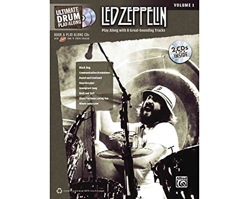 Alfred Led Zeppelin Ultimate Play Along Drums Volume 1 with 2 CD's ()