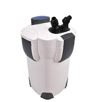 pingkay libre medios de comunicación filtro de acuario externo 3 etapas 265 GPH con bomba incorporada Kit): Amazon.es: Productos para mascotas