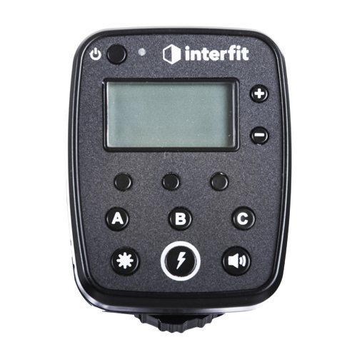 Interfit S1 TTL-S Remote for Sony w/ Wireless TTL Control of S1/S1a, Supports Sony P-TTL, High Speed Sync (HSS) up to 1/8000 second, 2.4 GHz, Three (3) Control Groups, and Eight (8) Channels by Interfit