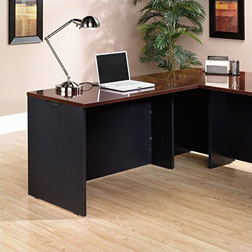 Sauder 401446 Via Desk Return, Classic Cherry Finish
