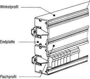 Striebel & John ángulo perfil zk141accesorios para distribuidor pequeño 4011617381419