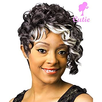 079562788b1 Amazon.com   New Born Free Cutie Synthetic Wig - CT18-SC1029   Hair  Replacement Wigs   Beauty