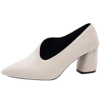 BBestseller Primavera Sexy Puntiagudo Zapatos con Tacon Alto para Mujer Sandalias de Mujer Botines de tacón Delgado de Playa Fiesta: Amazon.es: Zapatos y ...
