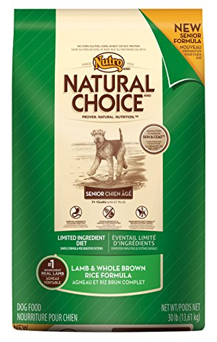 NATURAL CHOICE Limited Ingredient Diet Senior Lamb and Whole Brown Rice Formula - 30 lbs. (13.61 kg)