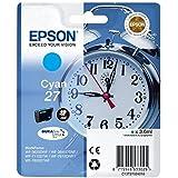 Epson Alarm Clock No.27 Series Standard Ink Cartridge - Cyan