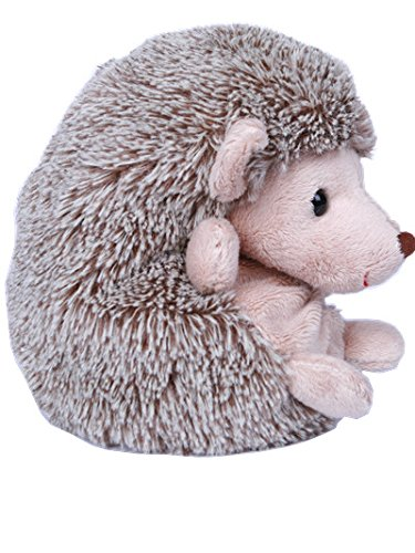 "Dilly dudu 8""Sedentary Hedgehog Plush Toy,Stuffed Animal,Soft Toy Gift Children Girlfriend"