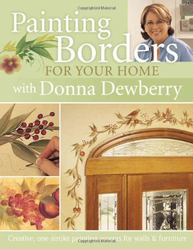 Painting Borders for Your Home with Donna (Furniture Painting Techniques)