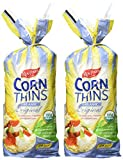 Real Foods Original Organic Corn Thins, 5.3 oz, 2 pk